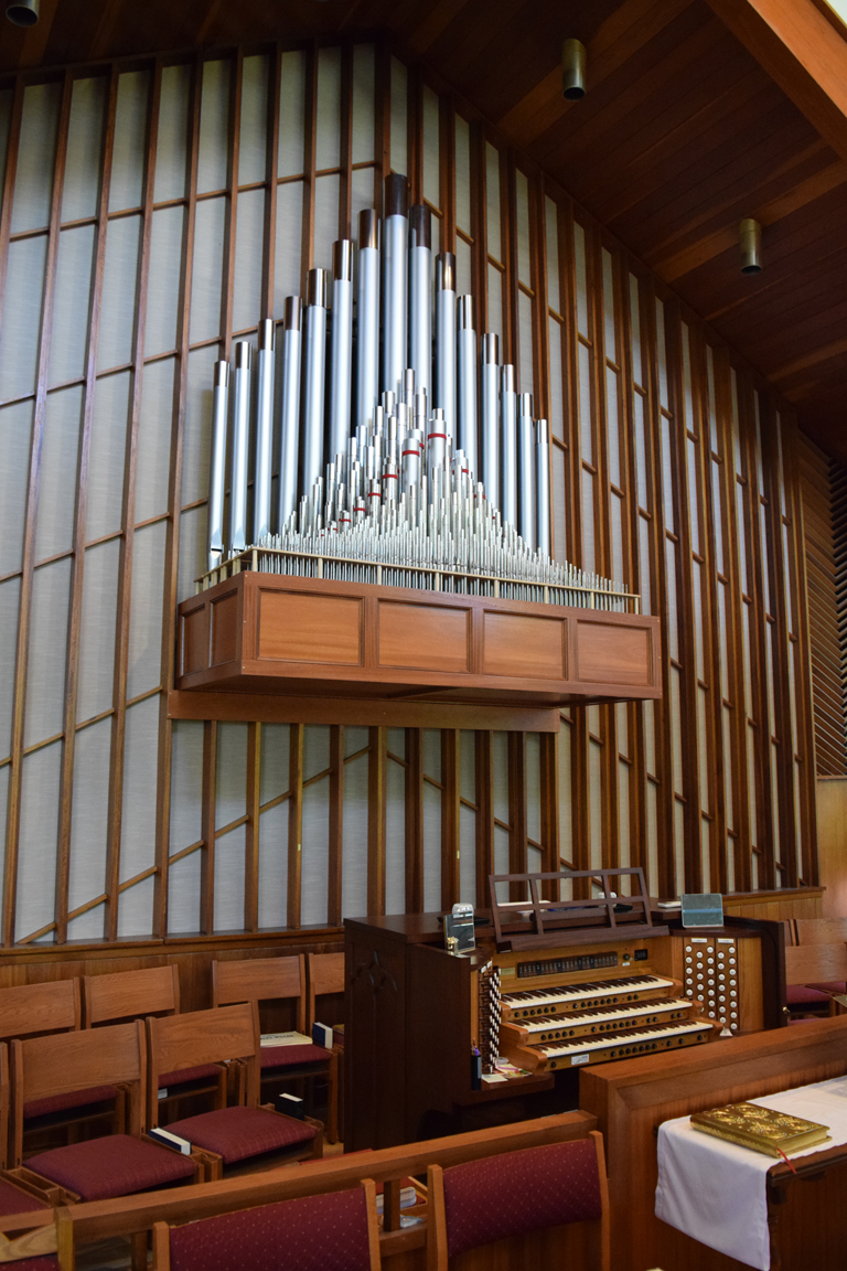 All Saints Episcopal, Glen Rock, NJ - Allen 58 Stop Custom w/Pipes